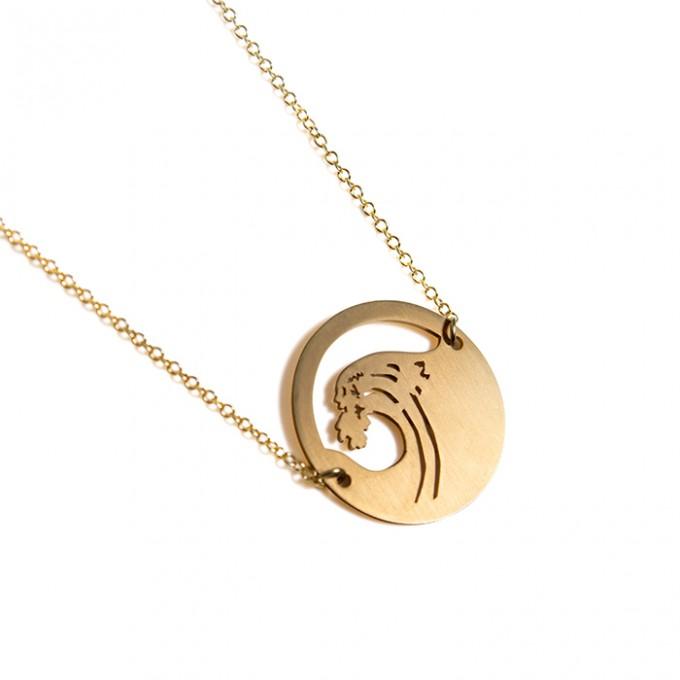 haloa jewellery WAVE I small I Halskette
