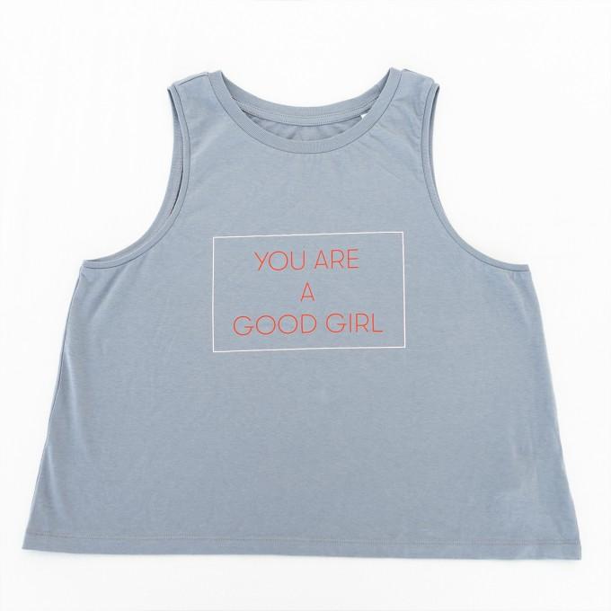 yoga-top YOU ARE A GOOD GIRL - PULS good stuff