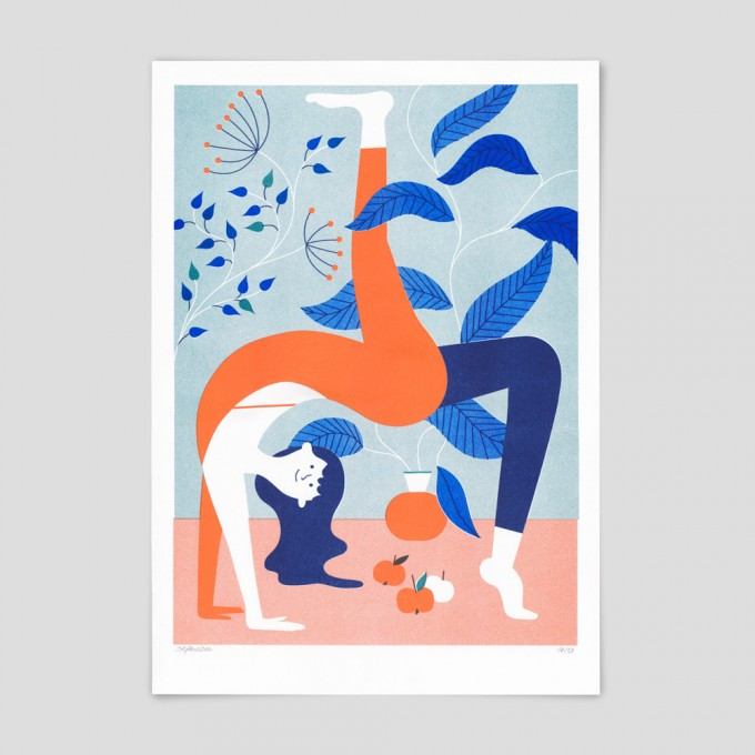 Stefanizen – 'Namaste' A3 Riso Print