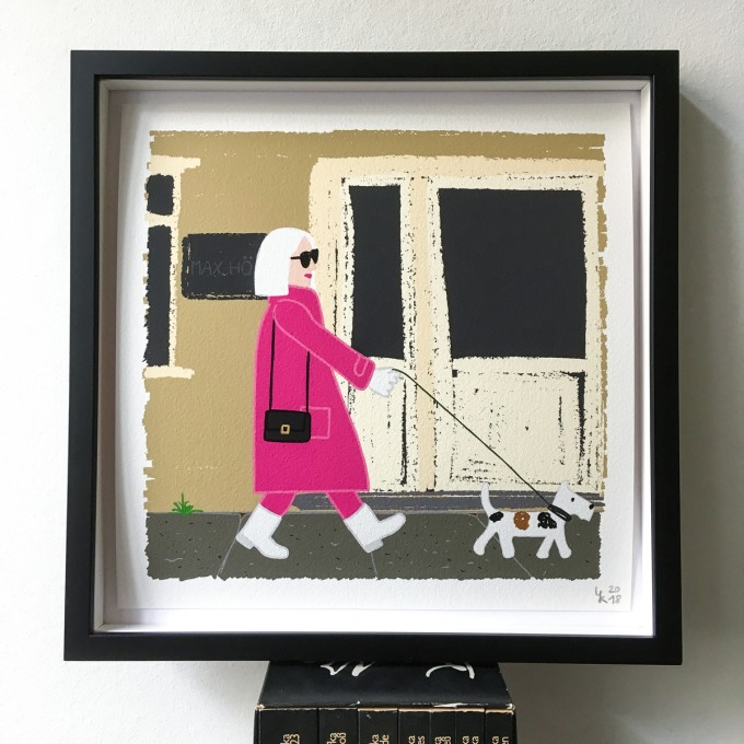 "Neighbour Series ""Neighbour No. 1"" – YUKY RYANG, Giclée-Druck, Format 28 x 28 cm"