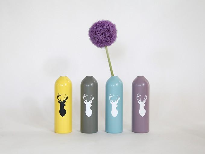 werkvoll by Lena Peter - Kerzenhalter/Vase farbig