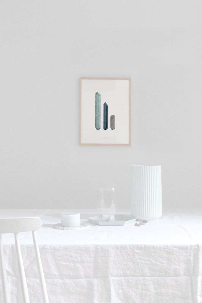 Coco Lapine Design 'Precious Finds no.2' Fine Art Print
