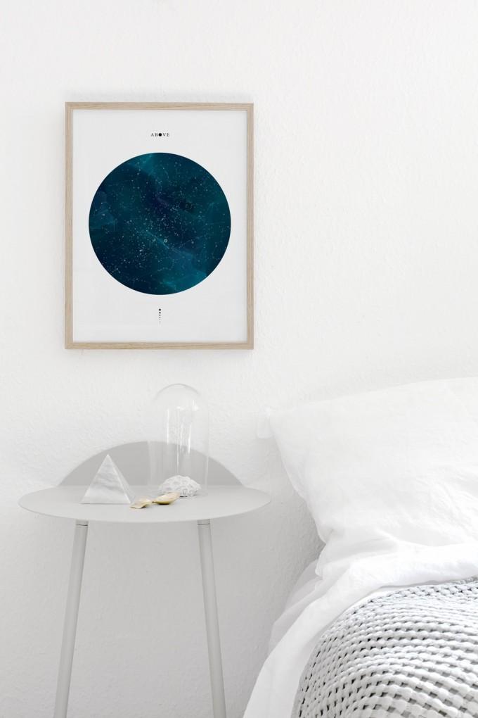 Coco Lapine Design 'Above' Fine Art Print