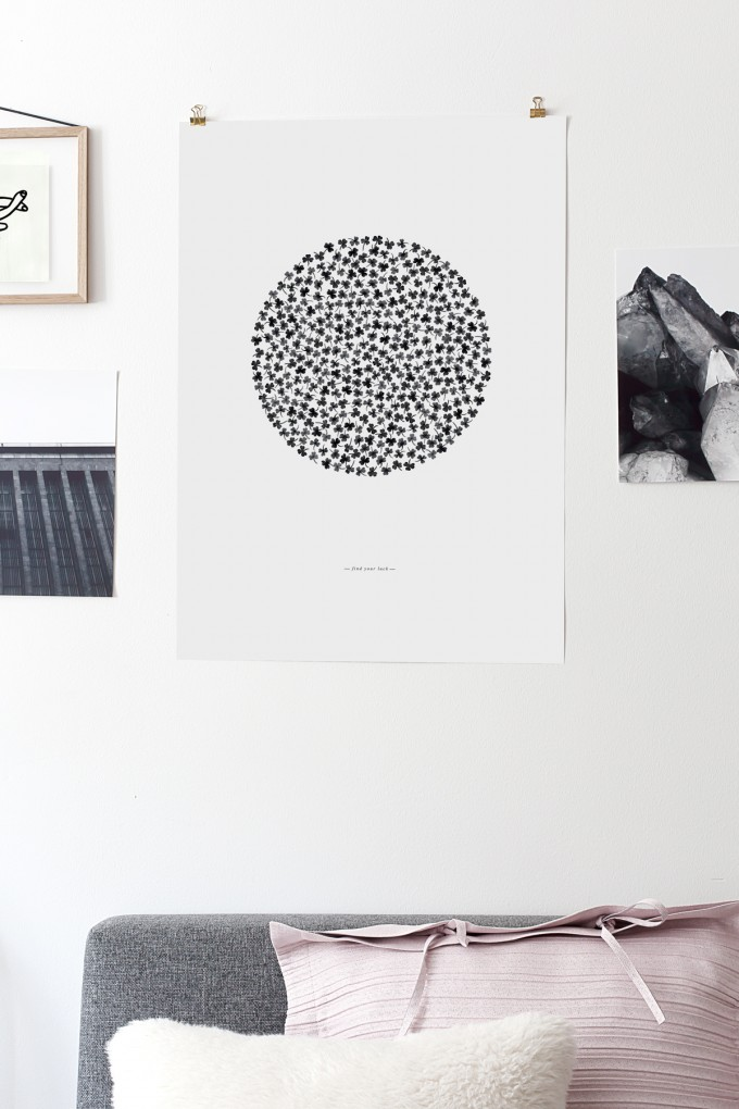 Coco Lapine Design Find Your Luck Print