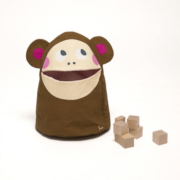 zookids Spielzeugtasche Amy Affe