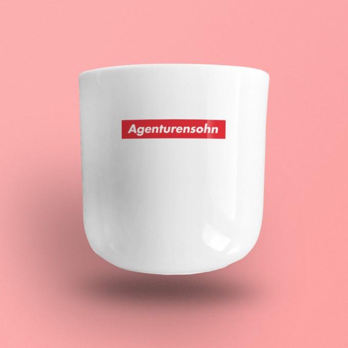 """edition ij """"Agenturensohn"""" Porzellanbecher"""
