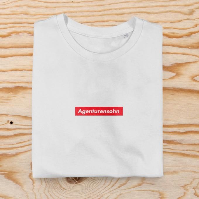 "edition ij Unisex T-Shirt ""Agenturensohn"" (Organic Cotton)"