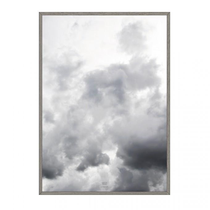 na.hili head in the clouds - A3, A1, 50x70 Artprint - Poster,  Wallart