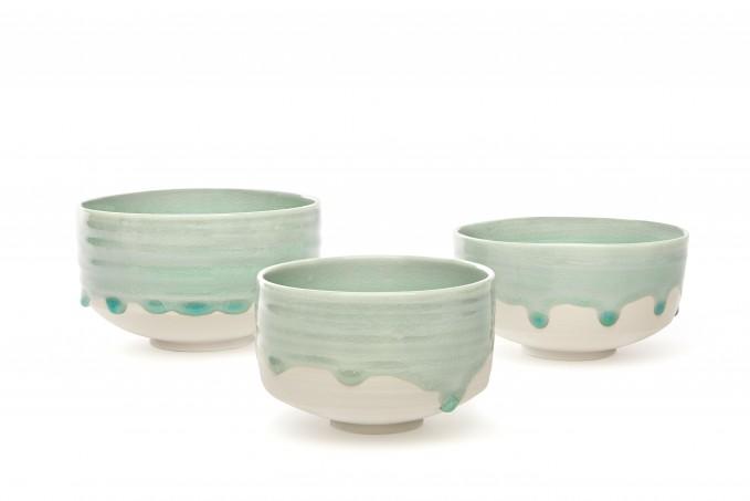 """Annika Schüler - porcelain Schale """"Seegras"""""""