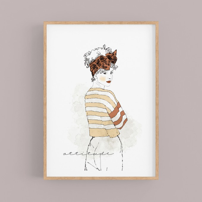 "nathys illustration ""attitude"""