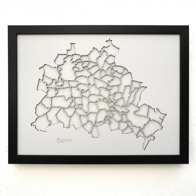 Frau Schneize 3d Stadtteile BERLIN
