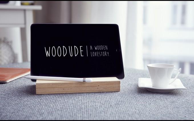 LASSE   iPad Halterung aus Holz   Bicycledudes