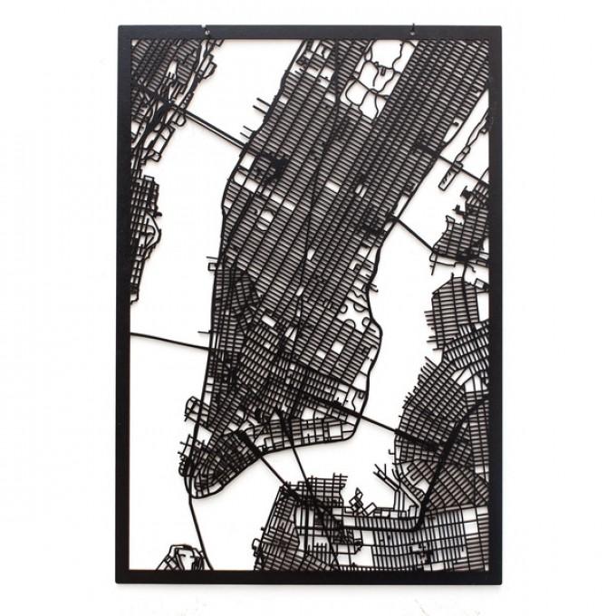 Frau Schneize 3D Stadtplan NEW YORK