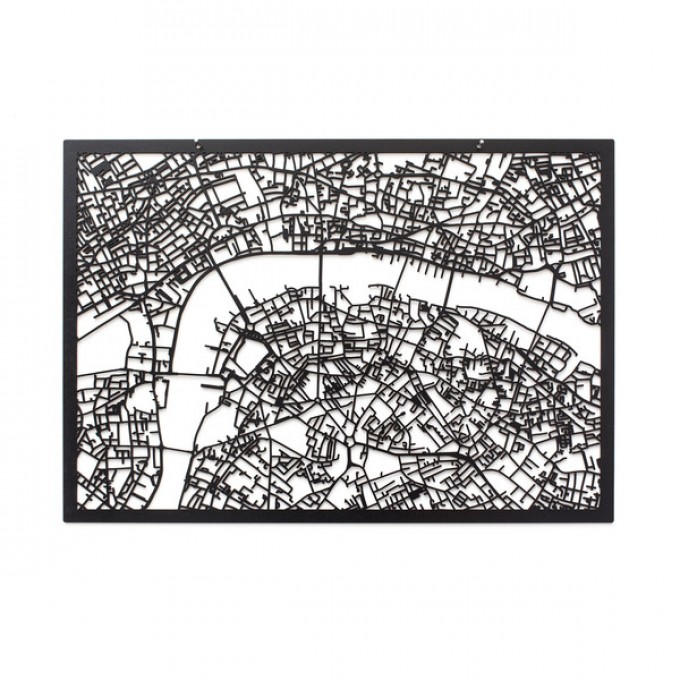 Frau Schneize 3D Stadtplan LONDON