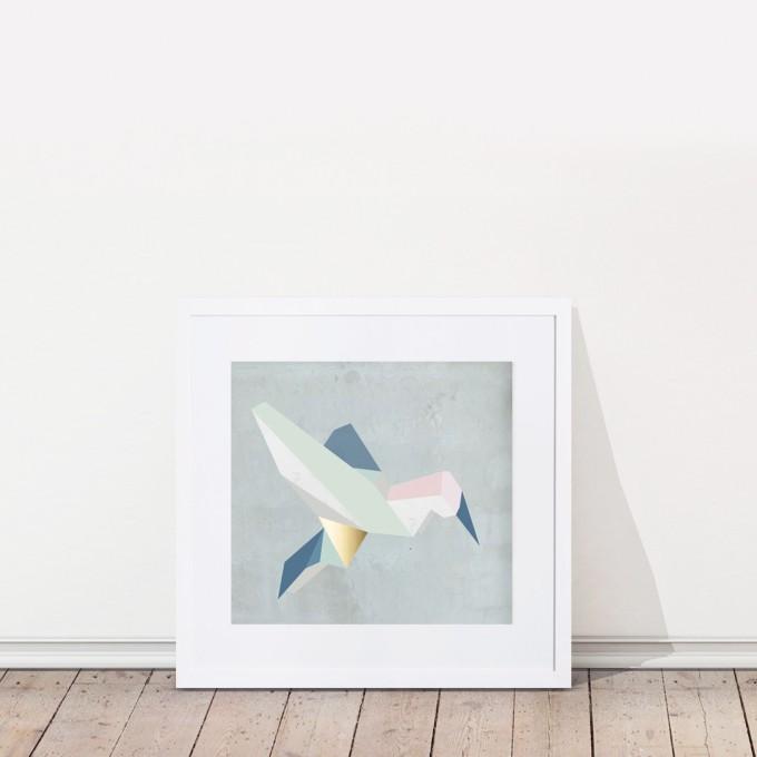 KAMI. poster – birdy
