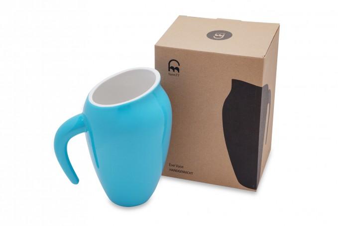 Form77 Eve Vase (blau)