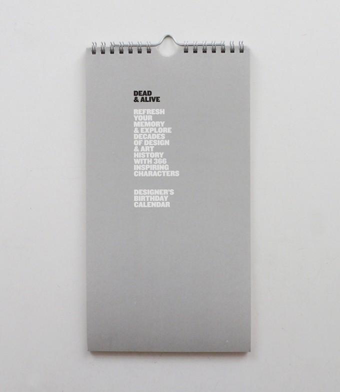 Immerwährender Geburtstagskalender DEAD & ALIVE    Vol.01 – Design