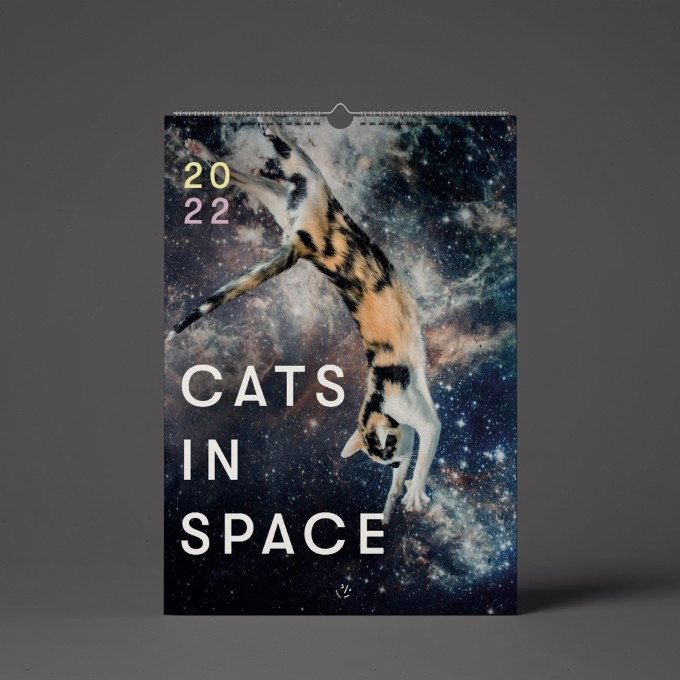 """""""CATS IN SPACE"""" Kalender 2022"""
