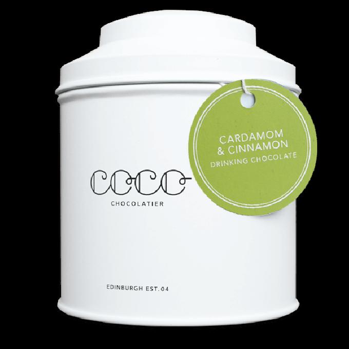 Coco Chocolatier zartbitter Trinkschokolade Kardamon & Zimt (vegan)