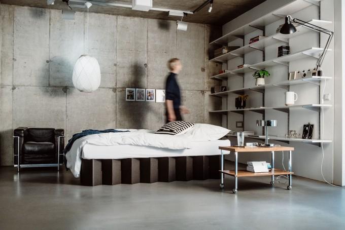 Bett 2.0 (schwarz) | ROOM IN A BOX