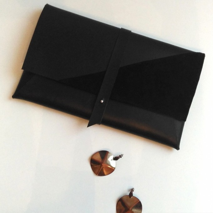 Grotkop Collection Clutch black