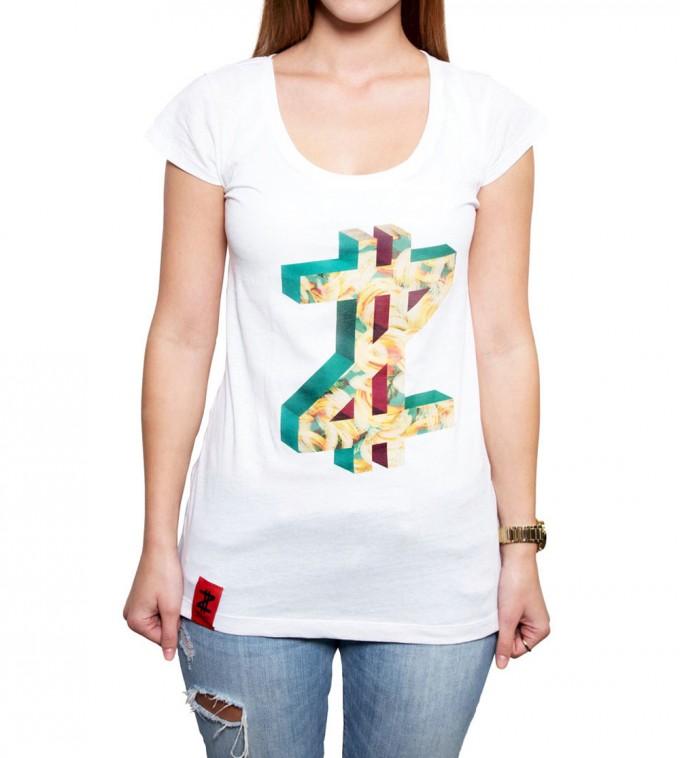 Coazi Edged Wide T-Shirt Female