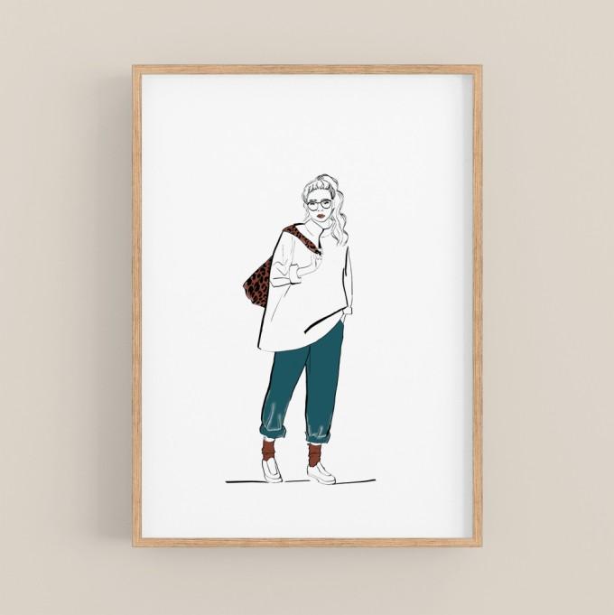 nathys_illustration - cozy clothing DINA4