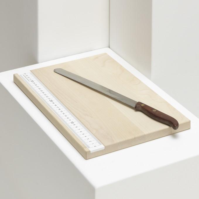 "details, produkte+ideen Schneidebrett ""Nimmt Maß"""