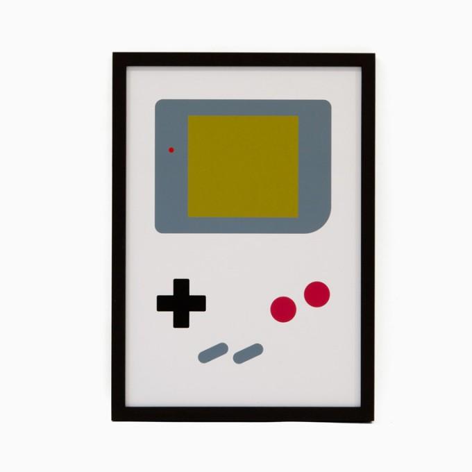 edition rikiki Siebdruck Open Studio – Gameboy