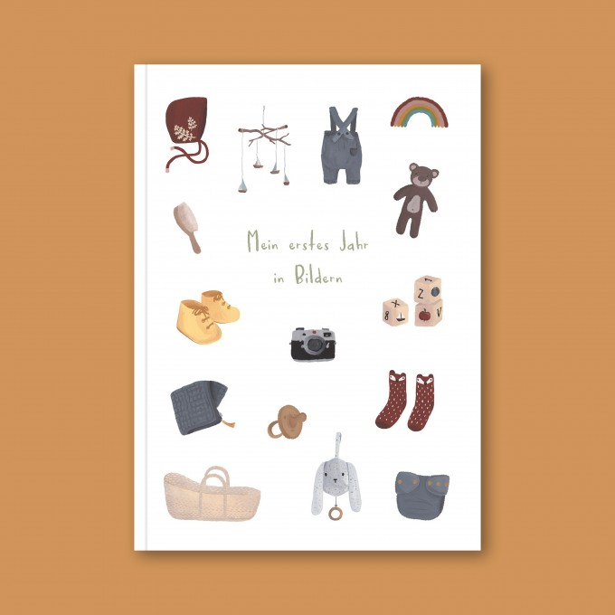 Babybuch – Dein erstes Jahr in Bildern - Elliet
