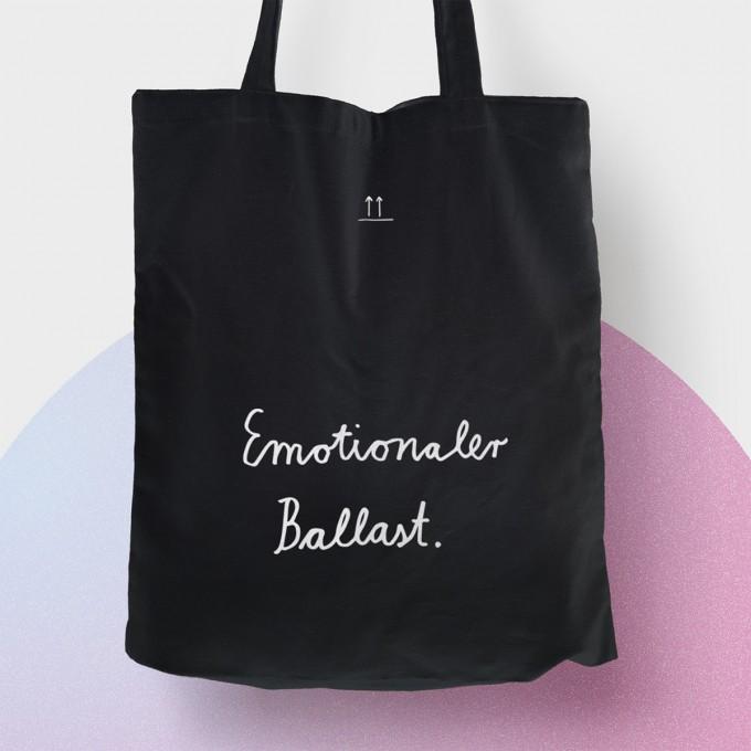 """Baumwolltasche """"Emotionaler Ballast"""""""