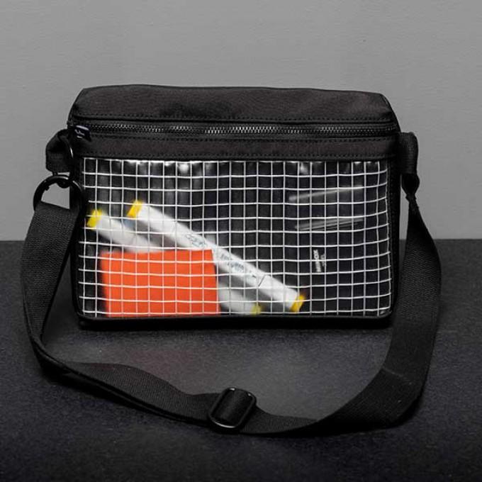 Handtasche - BELT BAG - Faix Design -  WYSIWYG BLACK