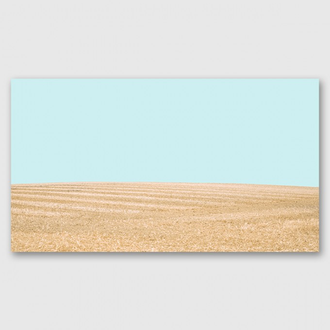 "ZEITLOOPS ""Fields of Gold"", Posterprint, 27x48 cm"