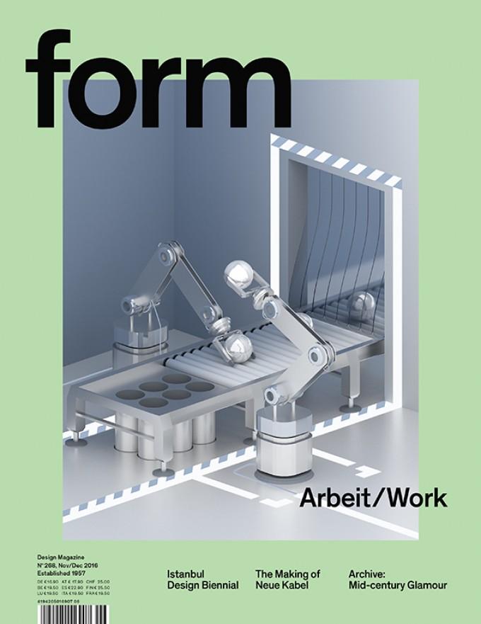 form Nº 268. Arbeit/Work