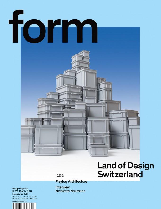 form N° 253. Land of Design Switzerland.