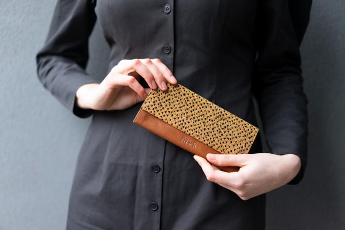 frisch Geldbeutel ART aus fairem Leder