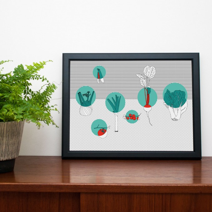 polypodium / Obst & Gemüse - Print - A3