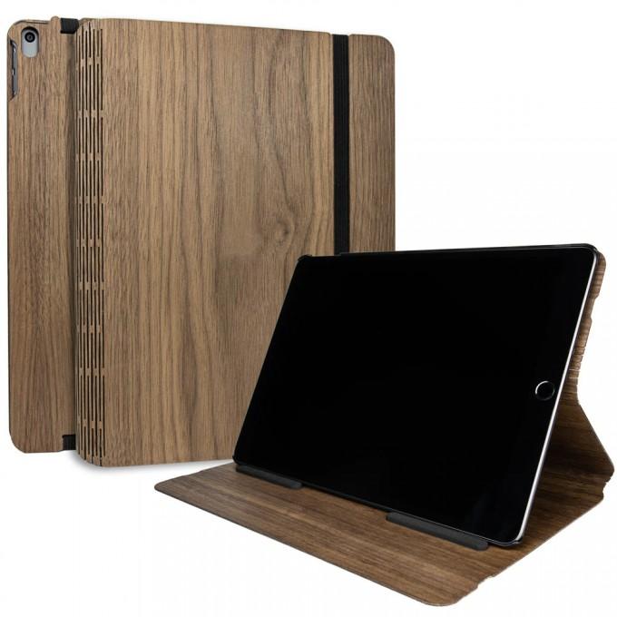 JUNGHOLZ Design WoodCase, Tabletcase, Walnuss, iPad Pro 10.5''