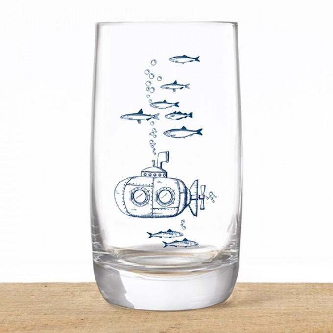 Bow & Hummingbird Kristallglas U-Boot