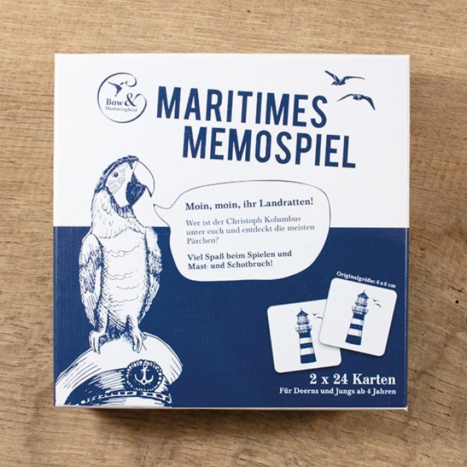 Bow & Hummingbird Maritimes Memospiel
