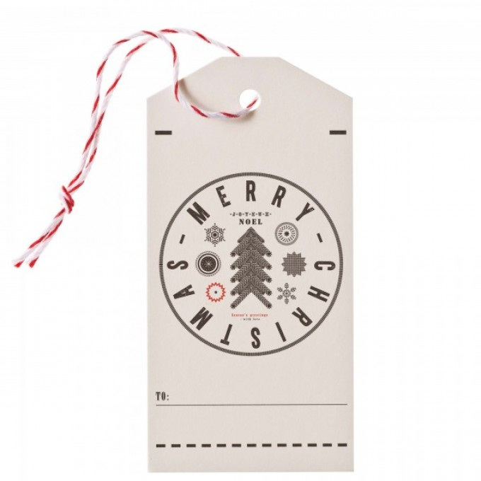 TYPE HYPE – Hangtag-Set Luise X-MAS 8er-Set