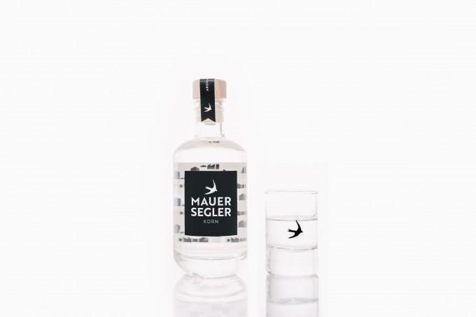 Mauersegler Korn –Der Korn aus Stuttgart / 0,2l Flasche / 38%