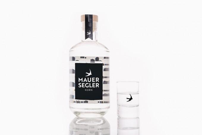 Mauersegler Korn – Der Korn aus Stuttgart / 0,5l Flasche / 38%