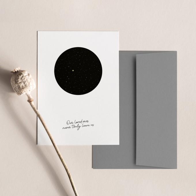 Sternenhimmel | 3er Set Klappkarten inkl. Umschlag | heartfelt paper & co