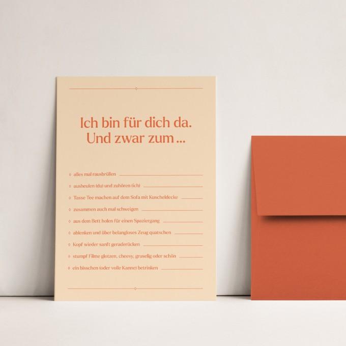 Ankreuzen | 3er Set Klappkarten inkl. Umschlag | heartfelt paper & co