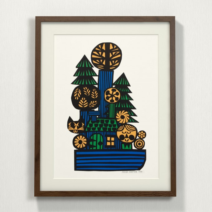 Print now - Riot later ● House boat Siebdruck