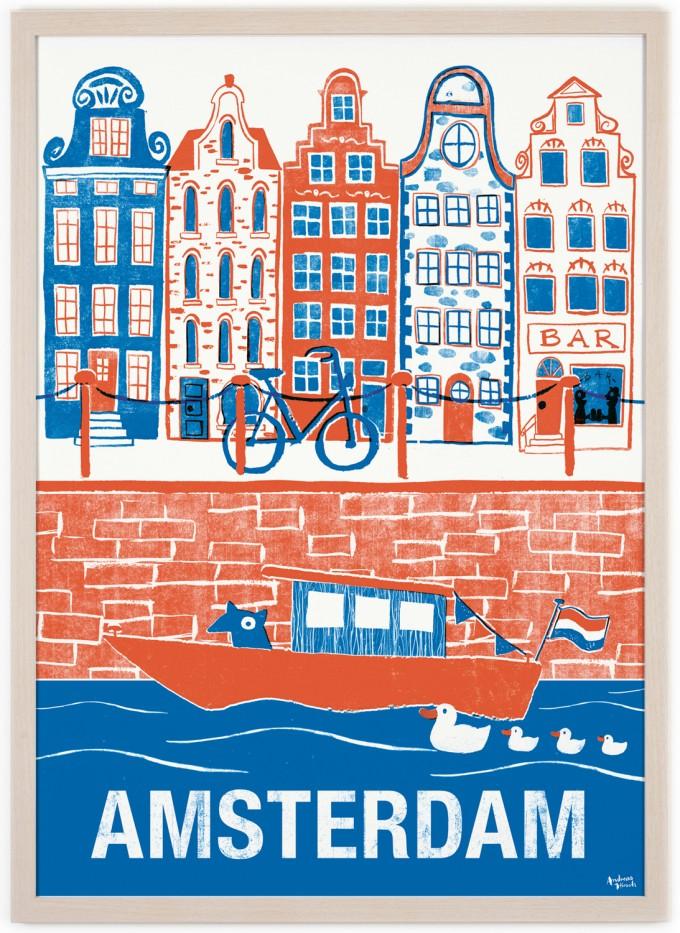 Human Empire Amsterdam #2 Poster (50x70cm)