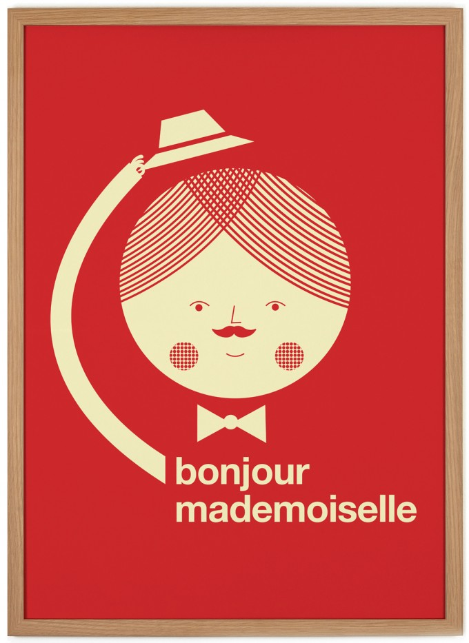 Human Empire Bonjour Poster (50x70cm)