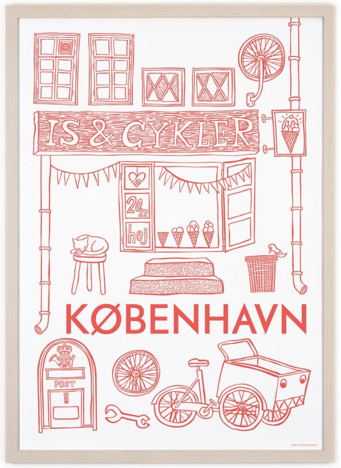 Human Empire Kopenhagen Poster (50x70cm)