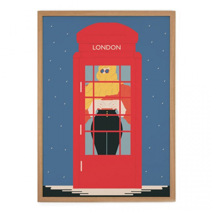 Human Empire London #2 Poster (50x70cm)